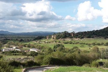 Sant Andrea Priu, Panorama