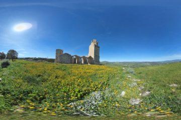 Chateau de Chiaramonti: visite virtuelle