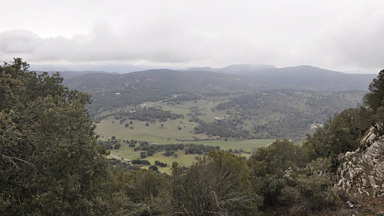 Orani, panorama dal Monte Ganore