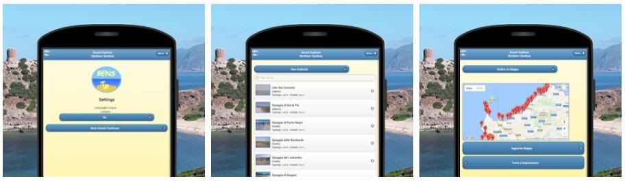 BENS App Spiagge del Nord Sardegna