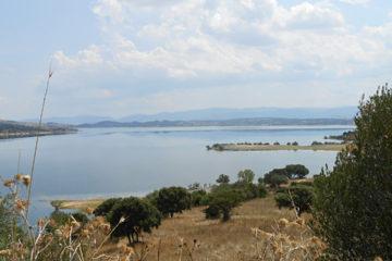 Il lago del Coghinas