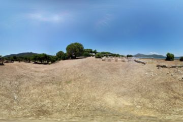Rovine Romane di Sant'Imbenia: virtual tour