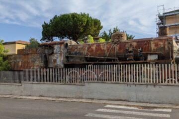 Locomotiva 740 Ansaldo Breda a Latte Dolce, Sassari