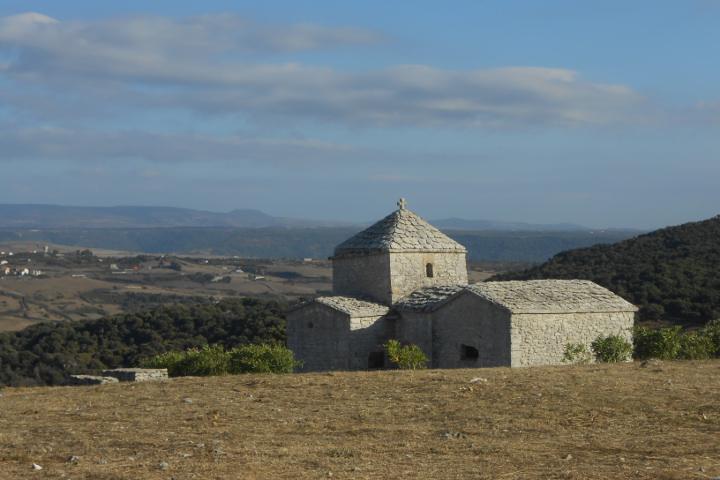 Church of Santa Maria Iscalas, Autumn in Sardinia