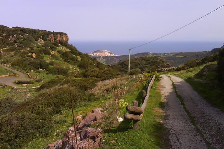 Hills near Tergu - winter in Sardinia