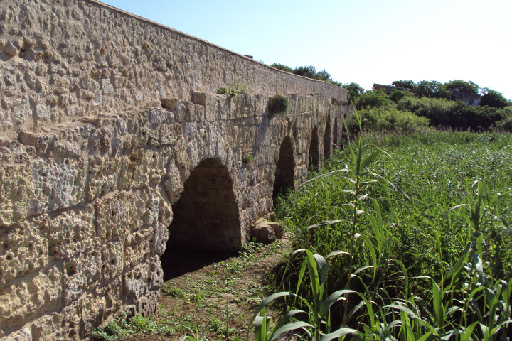 Roman bridge at Porto Torres