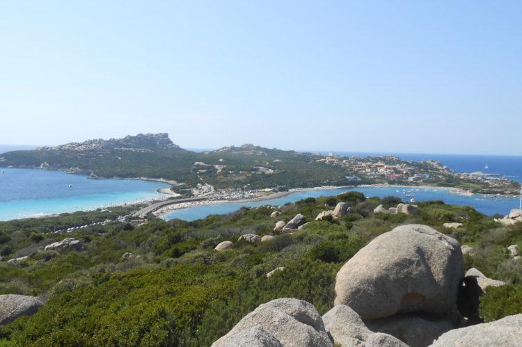 View of Capo Testa, near Santa Teresa di Gallura