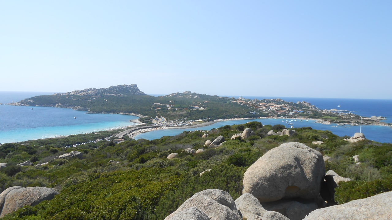 View of Capo Testa, near Santa Teresa di Gallura