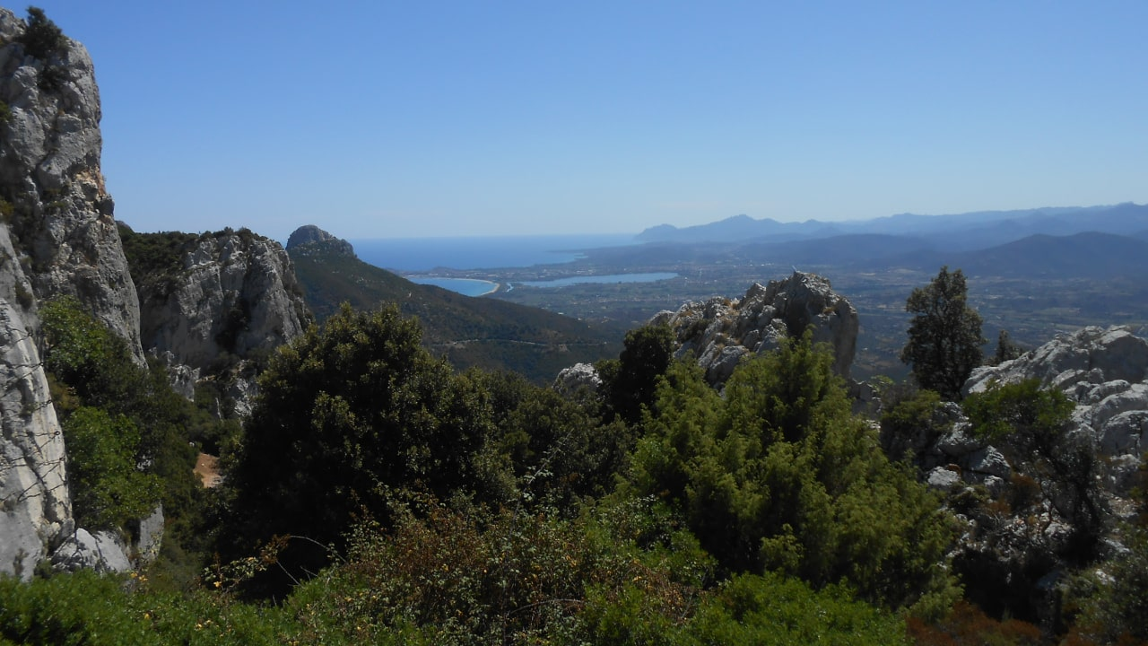View from Baunei on the Plains of Ogliastra