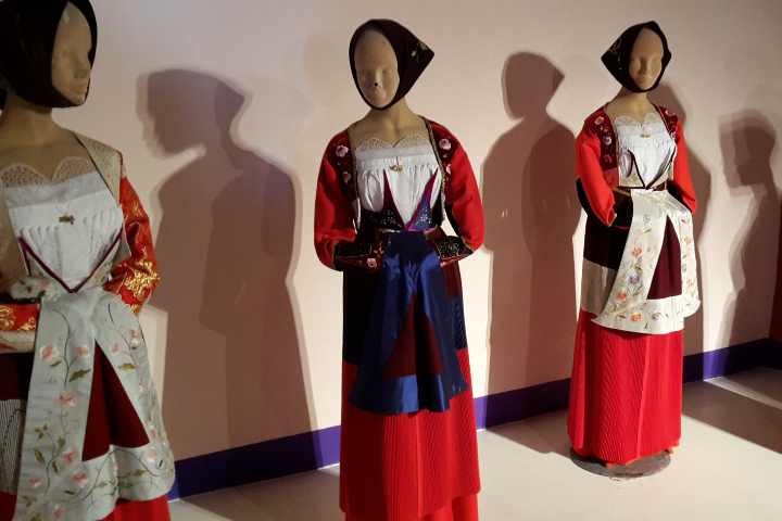 Traditional costumes of Fonni