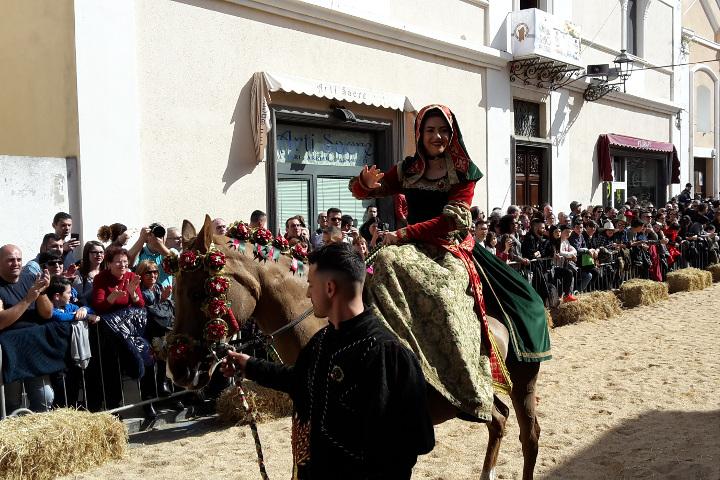 Sa Sartiglia con Eleonora D'Arborea