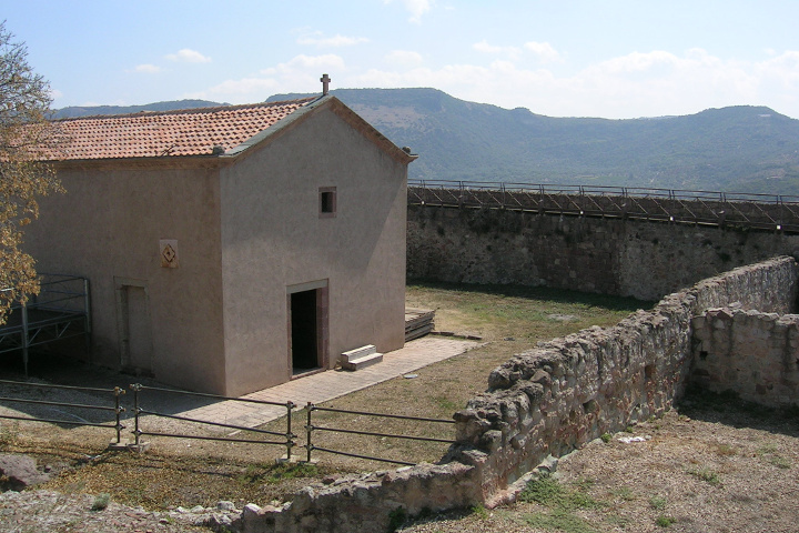 Bosa, château de Serravalle
