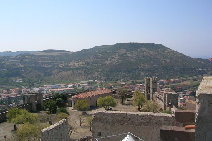 Le château de Bosa