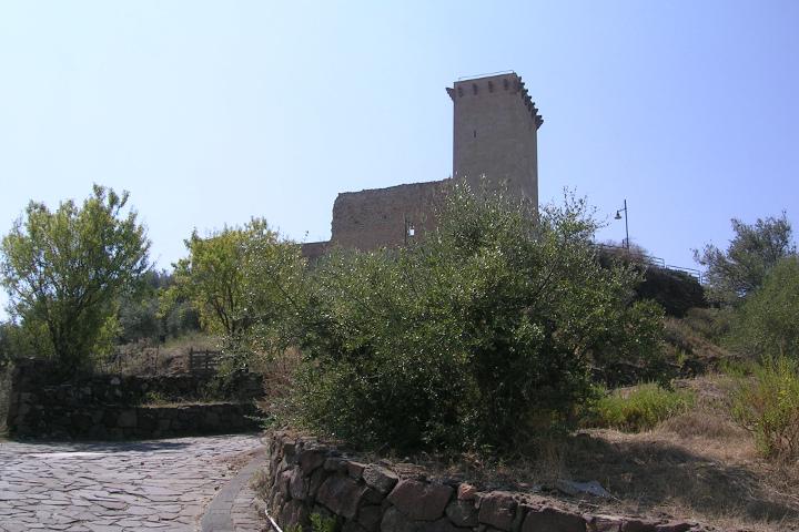 Bosa, Château Malaspina