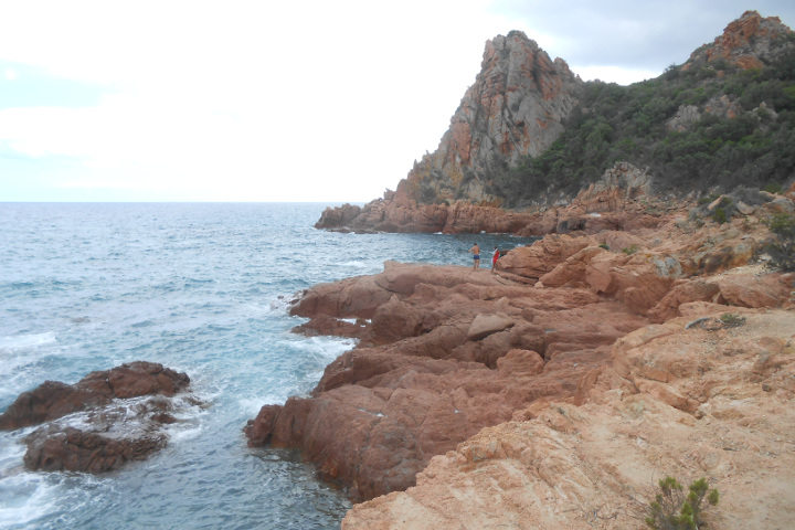 Cliffs near Su Sirboni
