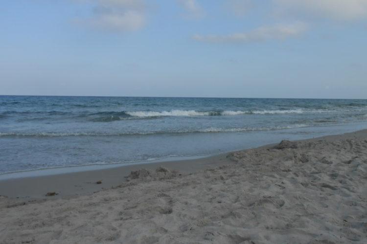 Sea at Berchida beach