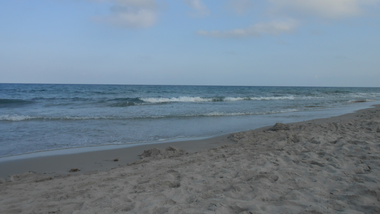 Sea at Berchida beach