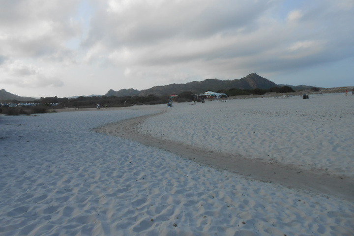 Beach of Berchida
