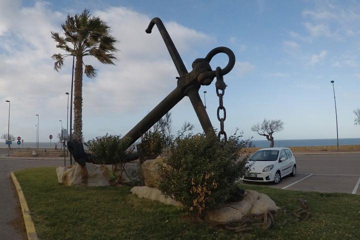Monument dédié au navire Rome