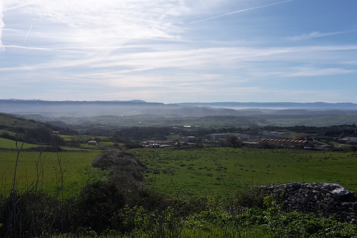 Anglona hills