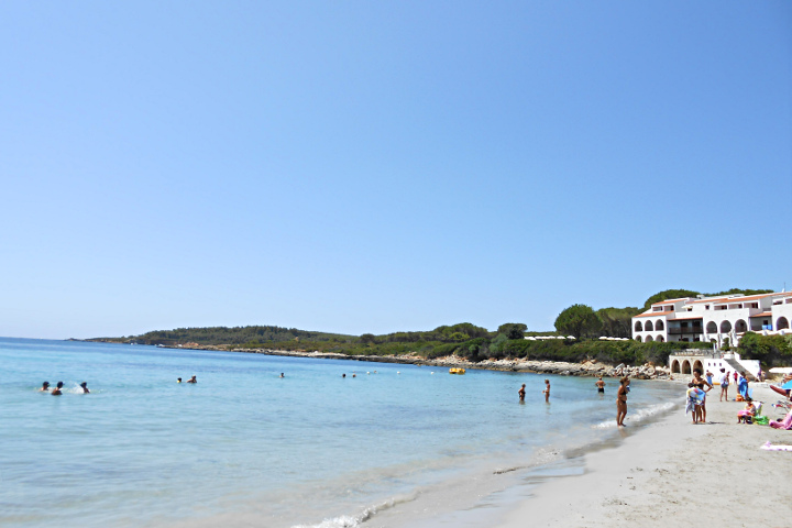 Beach and hotel at Punta Negra