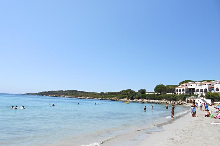 Plage et hotel de Punta Negra
