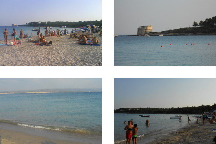 Lazzaretto Beach in summer