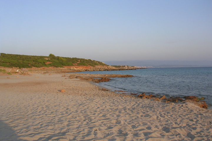 Evening at Le Bombarde beach