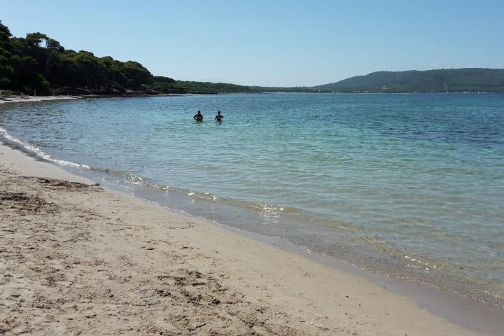 La plage de Mugoni