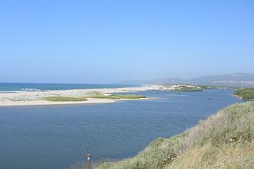 Coghinas river