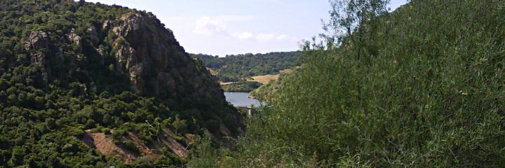 Casteldoria dam