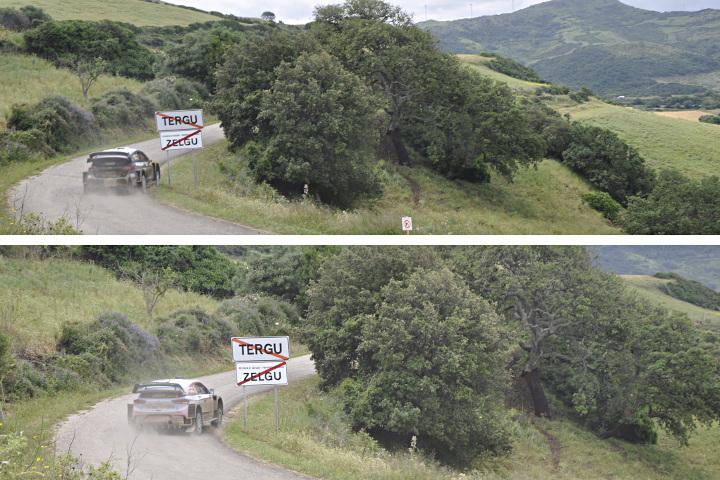 Ogier vs Neuville - Rally Italia Sardegna