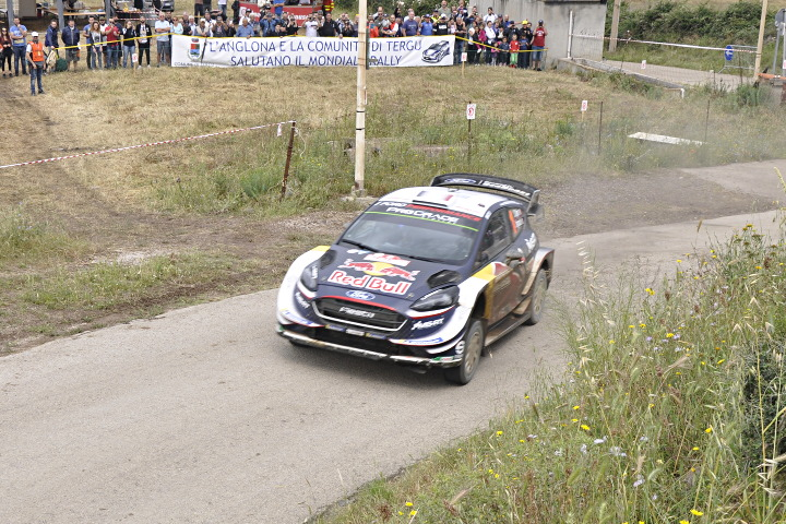 Ogier in action