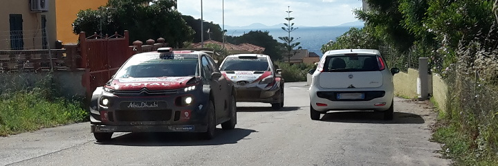 2 teams - Rally Italia Sardegna
