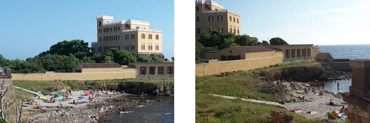 La Spiaggetta, near Las Tronas Hotel