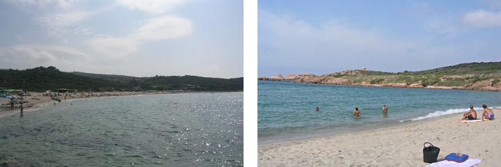 Plage de La Marinedda, Isola Rossa