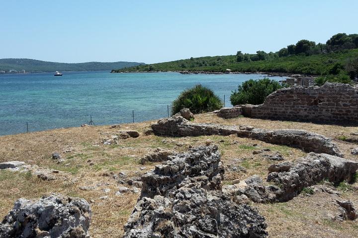 Villa romaine près d'Alghero