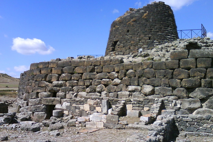 The main part of the nuragic complex