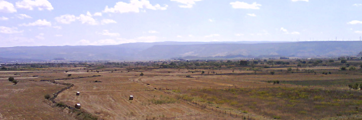 Panorama of the Nuraghi Valley