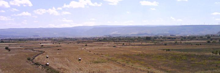 Panorama della Valle dei Nuraghi