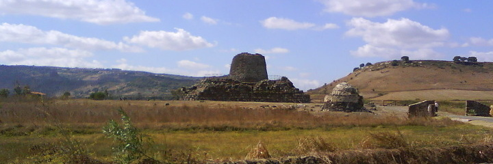 Nuragic palace of Santu Antine