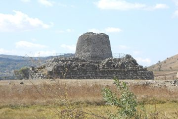 Nuragic fortress of Santu Antine