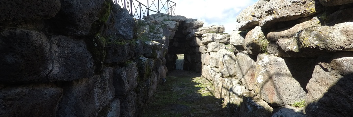 Walkways above the ramparts