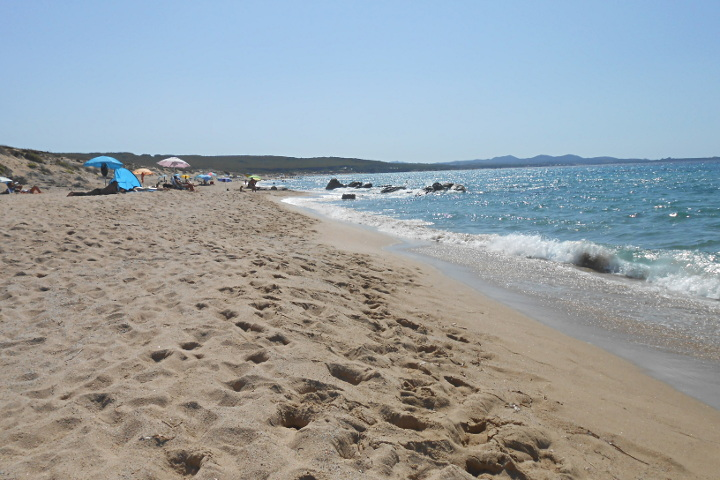 The wonderful beach of Lu Littaroni