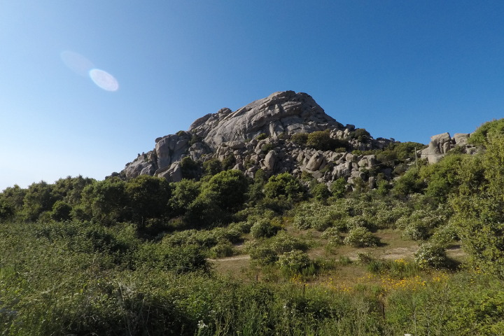 Mountains in Gallura