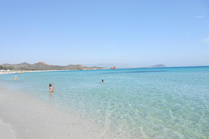 Cea, la plage