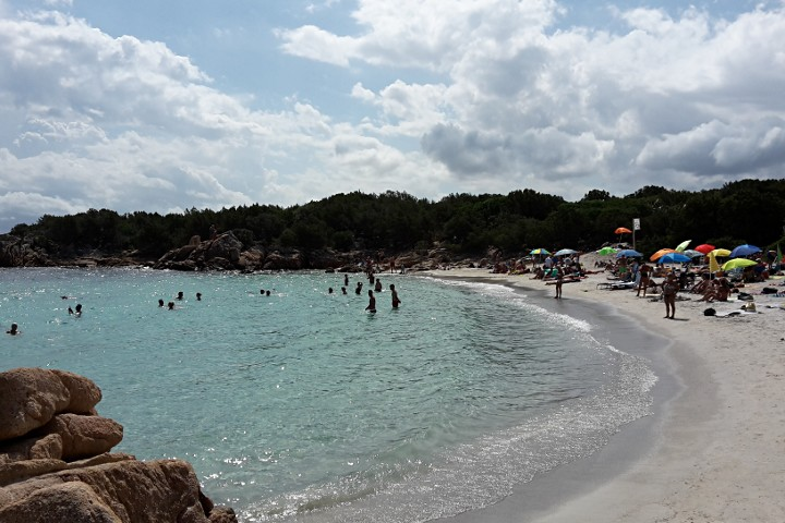 Beach of Capriccioli
