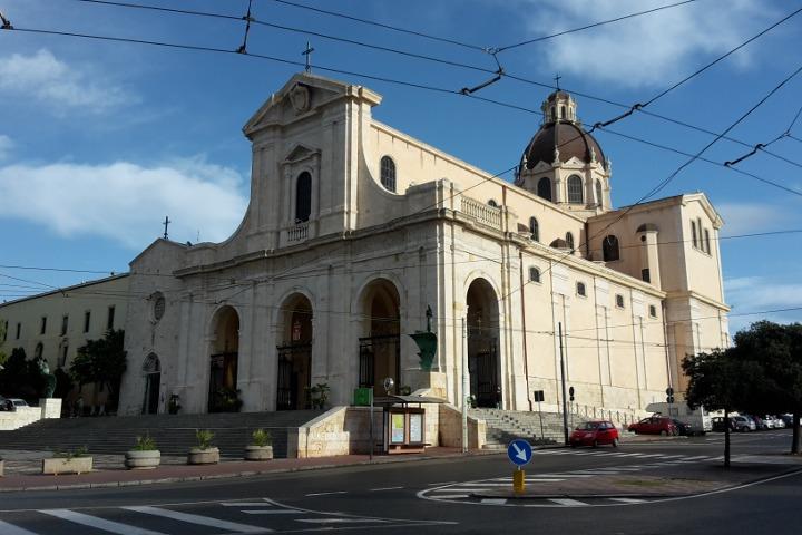 The two churches of Bonaria