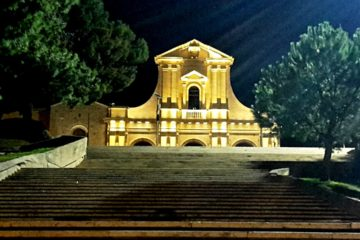 Nostra Signora di Bonaria By Night