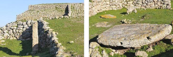 Menhir and altar